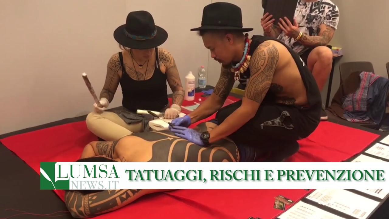 Tatuaggi, rischi e prevenzione