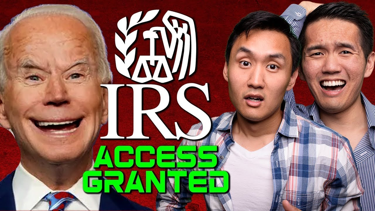 The Internal Revenue Service Desires Access to Your Bank (Biden's Sinister Strategy)