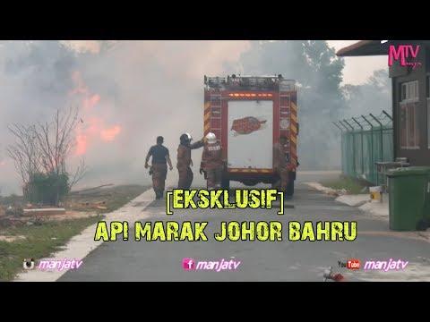 BERITA TERKINI!!!!  Hutan Terbakar JOHOR BAHRU