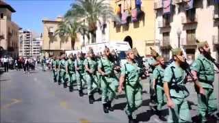 preview picture of video 'Llegada de la Legión a Elche para participar en la procesión del Cristo del Perdón'
