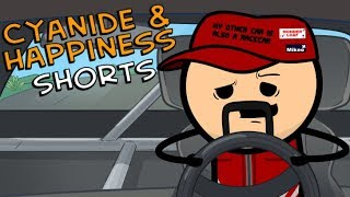 Racecars - Cyanide & Happiness Shorts