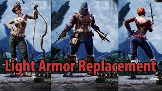 Light Armor Replacement