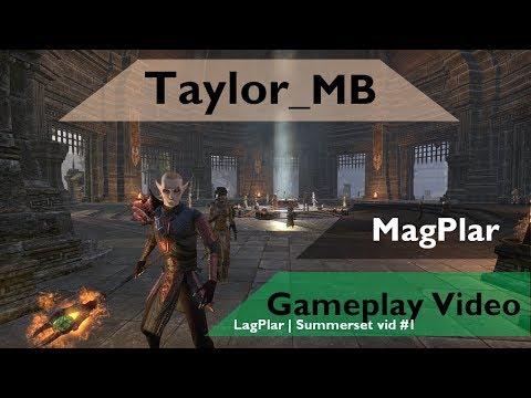 vid] Magicka Templar 1vX | Summerset | No-CP | 300+ ping