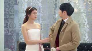 [HOT] 황금무지개 39회 - 웨딩드레스를 입고 도영(정일우) 앞에 나타난 백원(유이) 20140323
