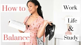 5 AMAZING organisational tips to balance work/life/study - PERFECT for students