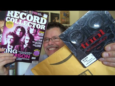 Unboxing Tool 10,000 Days and More Progressive Rock CDs