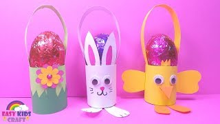 Easy Easter Egg Basket DIY | Easter Crafts For Kids