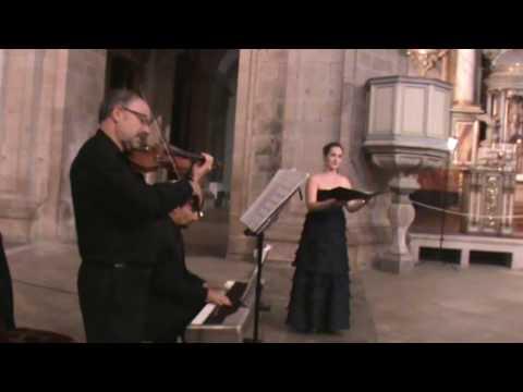 Ave María F. Schubert. Soprano y Dúo de violín y piano