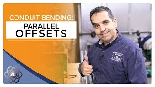 How to Bend Conduit with Parallel Offsets