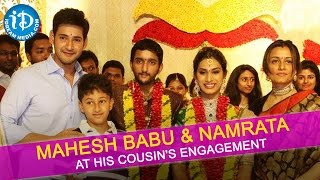 Mahesh Babu and Namrata Shirodkar at His Cousin's Engagement