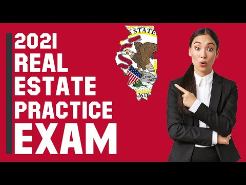Illinois Real Estate Exam 2021 (60 Questions with Explained Answers)