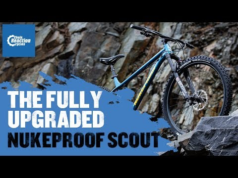 The fully upgraded Nukeproof Scout   CRC  
