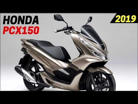 NEW 2019 Honda PCX150 Scooters – Announced For USA With New Design