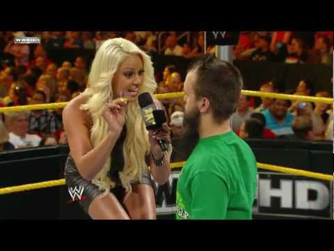 WWE NXT: Hornswoggle gives a gift to Maryse and Zack Ryder arrives