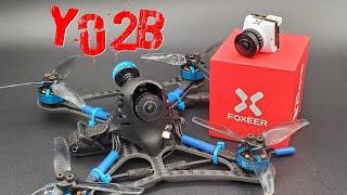 """Foxeer T-Rex """"Test DVR"""" Micro 1500TVL FPV Cam / BetaFPV TWIG XL3 - Yo2B Production"""