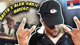 BALKAN RAP REACTION |Rasta X Alen Sakic   Maroko (Official Video)