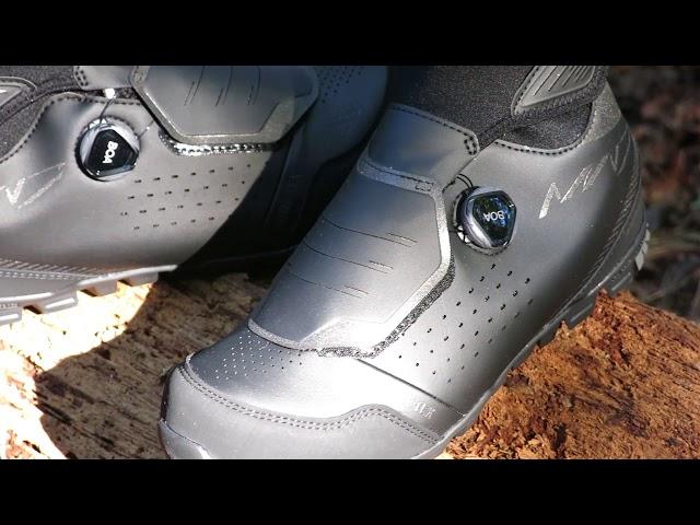 Видео Велотуфли Shimano SH-MW7 черные