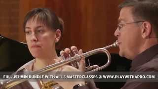 Trumpet Lessons With David Bilger, 5 Trumpet Masterclasses, Play With A Pro