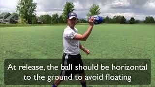 Youth Flag Football Tutorial - QB Can't Throw? Teach them this!  Young quarterback techniques