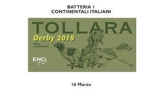 DERBY CONTINENTALI 2019 - CONTINENTALI ITALIANI - BATTERIA 1