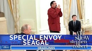 Exclusive Trailer: Steven Seagal's Special Envoy - Video Youtube