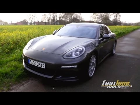 2015 Porsche Panamera S E-Hybrid Review - Fast Lane Daily