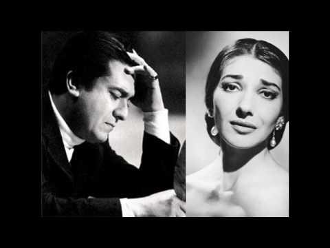 Maria Callas and Giuseppe Di Stefano Sings La Traviata LIVE