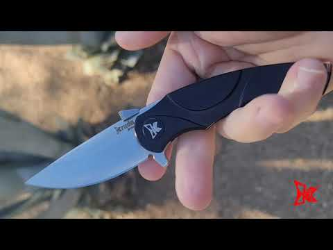 "KOGNITO Folding Knife | Black, Silver and Copper | 3"" blade 