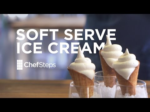Video ChefSteps Soft Serve Ice Cream