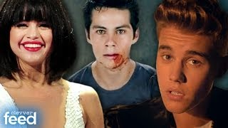 """Justin Bieber's Sexy """"All That Matters"""" Music Video & """"Teen Wolf"""" Stiles' Loses His Mind Trailer"""