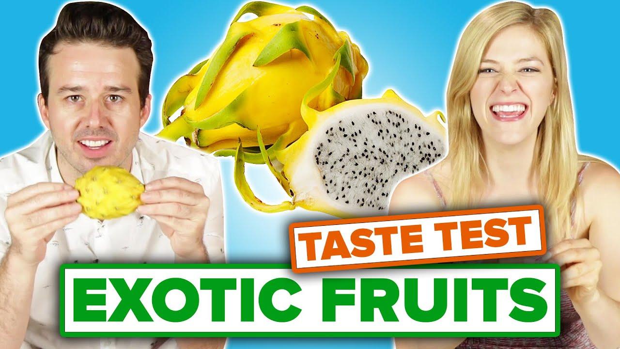 People Taste-Test Exotic Fruit thumbnail