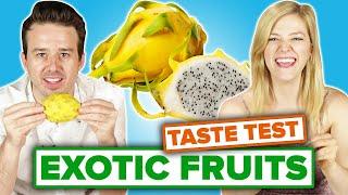 People Taste-Test Exotic Fruit