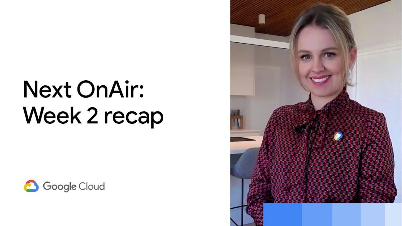 This week's Google Cloud Next '20: OnAir theme was productivity and collaboration, and there were plenty of digital learning opportunities, including a keynote (or two) plus breakouts for a deeper dive into a topic. It was all fresh content too, delivered on demand. Ready for week 3? Let's get solving.