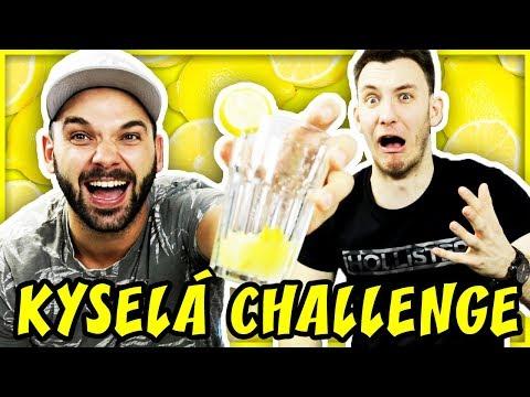 NECHUTNĚ KYSELÁ CHALLENGE! | Pedro a House