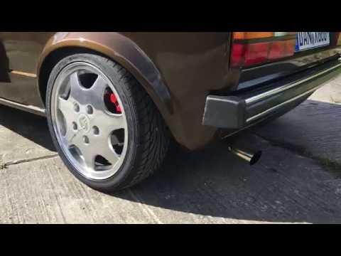 VW Golf-1 G60 Sound/Klang 220PS