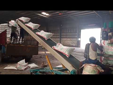 Truck Loading Conveyor System