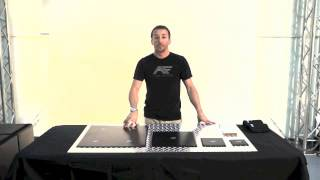 Action Factory polymer insert pad demo