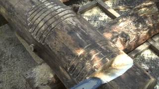 Howto Make King Size Log Furniture By Mitchell Dillman