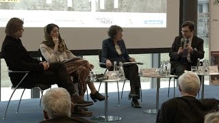 Rafał Pankowski, Caroline Y. Robertson-von Trotha, Hajer Sharief and Tom Junes (panel discussion on populism), Karlsruhe, 3-5.03.2017.