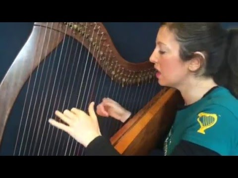 """Free online harp lesson: """"Wishing"""": Harp 2: Let's learn these chords first!"""
