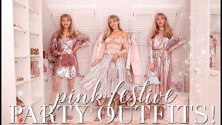 10 Fabulous Festive PINK Party Outfits! ~ Freddys Fashion Month ~ Freddy My Love