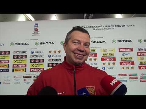 """, title : '""""Матч с США - это не политика, а хоккей!"""" / интервью Воробьева на злобу дня'"""