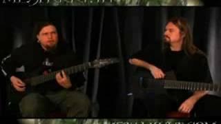 """Meshuggah: """"Bleed"""" Guitar World Lesson"""
