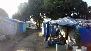 preview picture of video 'HAITI LEOGANE TENT CITY'