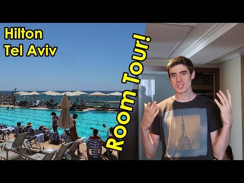 Luxury Hilton Tel Aviv ROOM TOUR and REVIEW