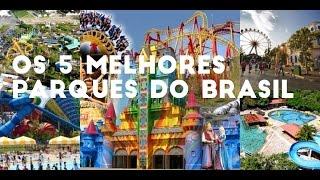 OS MELHORES PARQUES DE DIVERSÕES DO BRASIL
