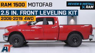 2017 Ram 1500 Leveling Kit >> Motofab 2 5 In Front Leveling Kit 06 20 4wd Ram 1500 W O Air Ride Excluding Mega Cab