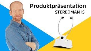 STEREOMAN ISI | Digitaler Stereo-Funkkopfhörer für Fernseher und Musikanlagen. | TechniSat