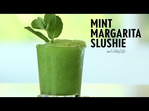 Video How to Make a Mint Margarita Slushie | Cooking Light