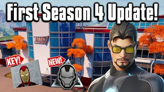 All The New Changes From The FIRST Update of Season 4! - Fortnite Battle Royale